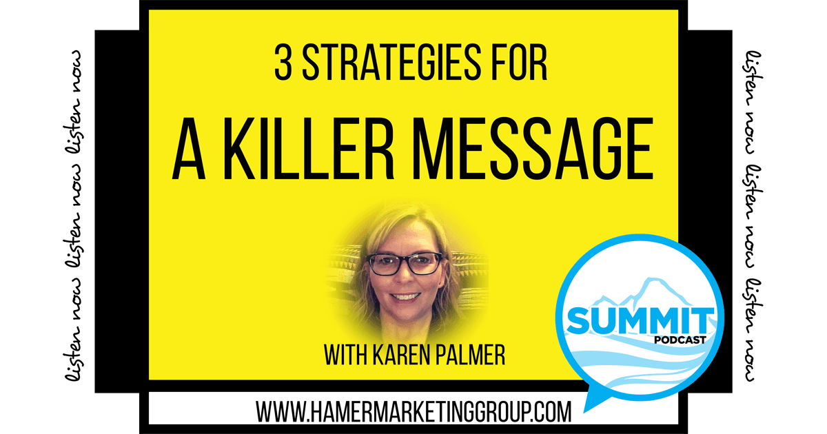 Grow your brand with a killer message