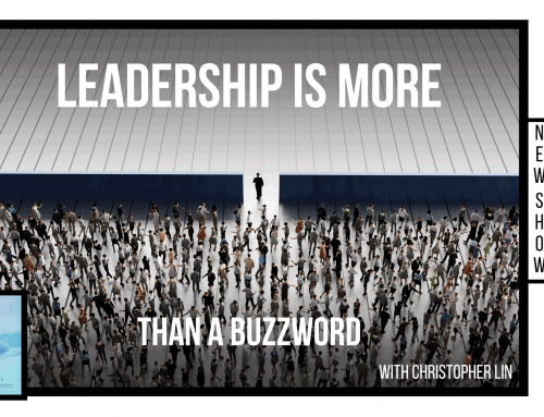Leadership is more than a buzzword